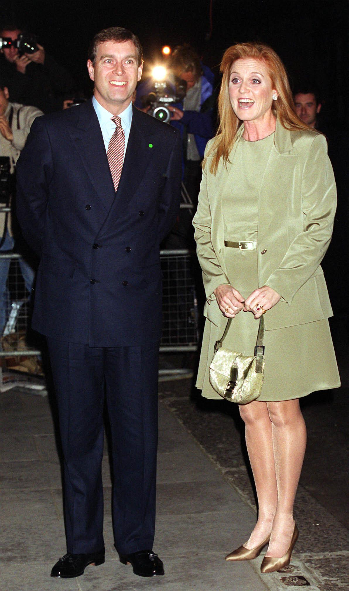 The Duke and Duchess of York arriving at Blakes Hotel in London, to attend a party in celebration of the Duchess's 40th birthday.