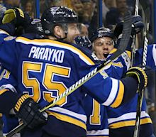 Stanley Cup playoffs three stars: Blues end Predators' winning streak to even series