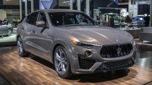 Maserati showcasing opulent Levante options in New York