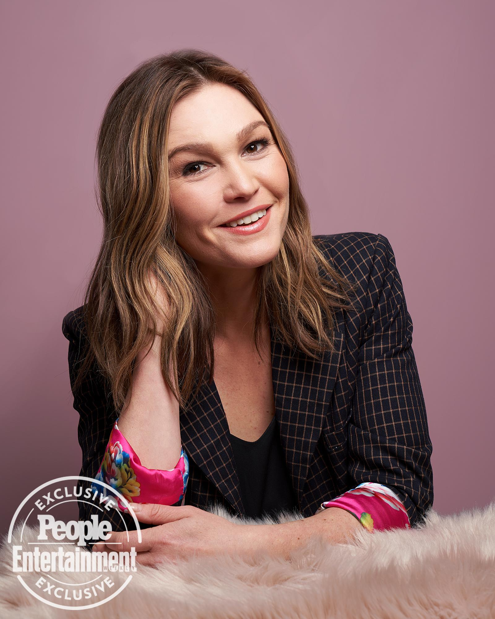 Julia Stiles Opens Up About Multitasking When Her Son