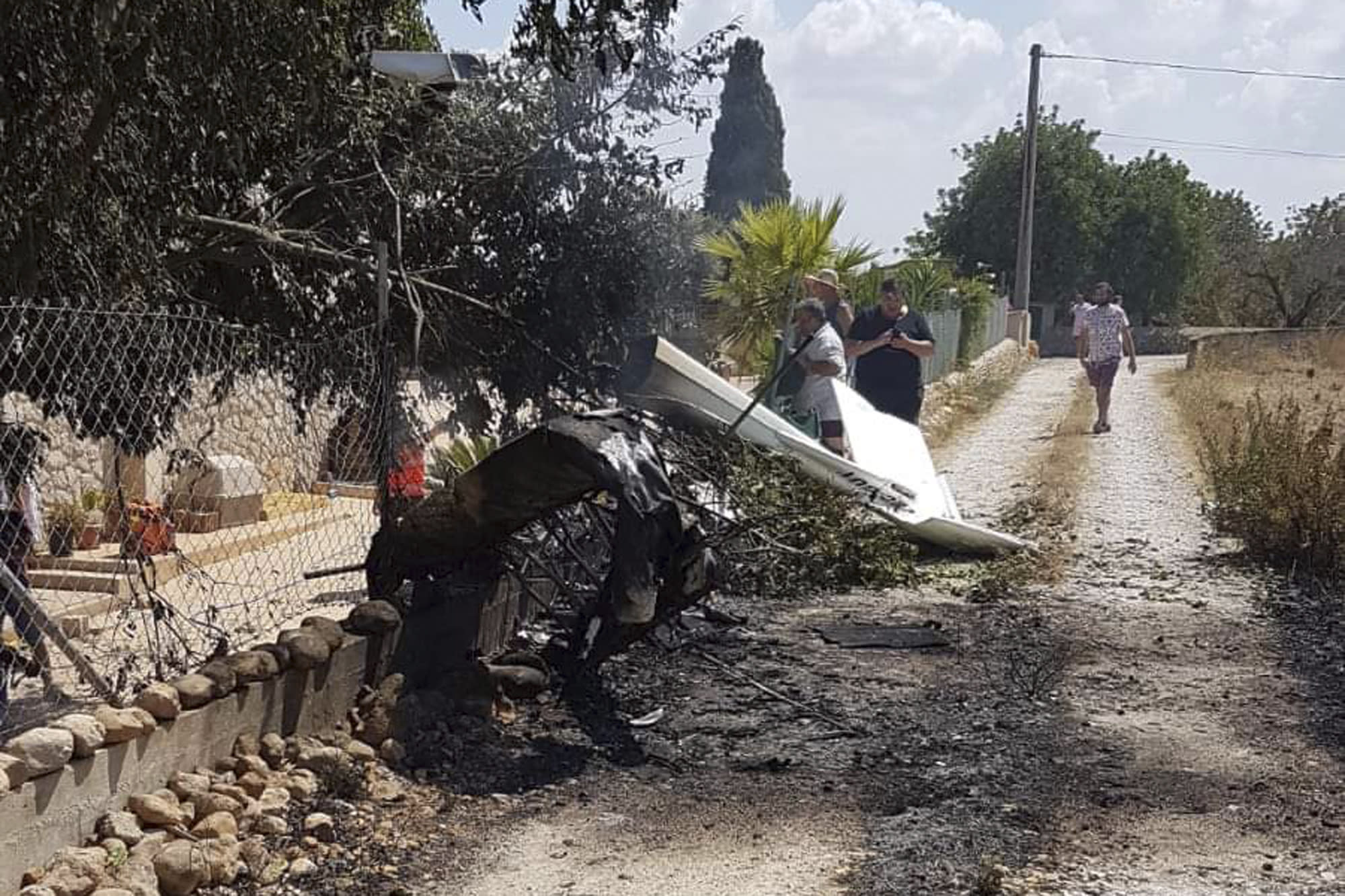 Helicopter, small plane crash in Spain's Mallorca; 5 dead