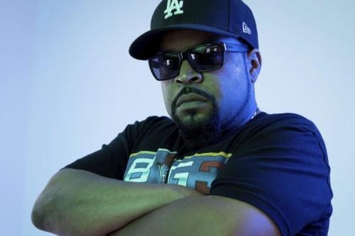 Ice Cube, professional journalist. (AP)