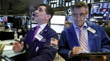 Stocks plunge on weak industrial earnings; tech skid resumes