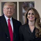 Trump accuses Dems of taking pictures of Hope Hicks during closed-door testimony