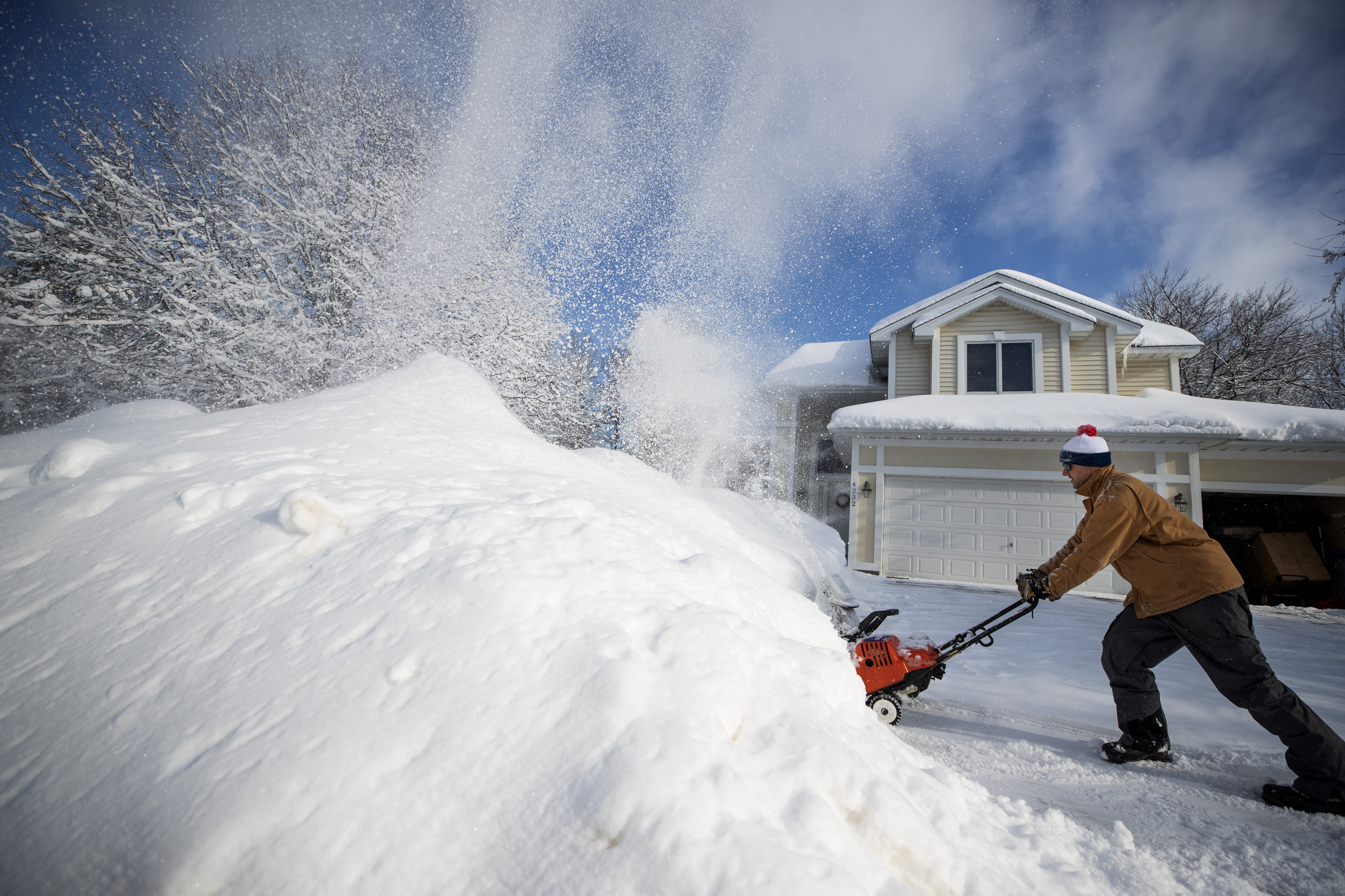 Heavy Snow Causes Upper Midwest Roofs To Collapse