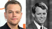 Matt Damon será Robert F. Kennedy en su biopic