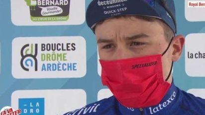 Cyclisme - Drôme Classic - Andrea Bagioli, vainqueur de la Royal Drôme Classic: «À fond tout le temps»