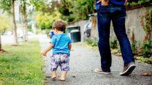 My son has learned to walk – like a maniac