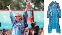 Meryl Streep, 70, steps out in a stunning Givenchy dress at Venice Film Festival