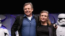 Mark Hamill thinks Carrie Fisher's name should replace Donald Trump's on the Hollywood Walk of Fame