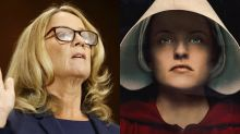 Twitter notes the eery similarities between the Kavanaugh hearing and 'The Handmaid's Tale'