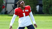 'I don't get butterflies, I give 'em' – Newton excited to make Patriots debut