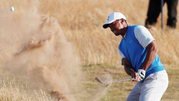 Tiger settles for even-par round at British Open