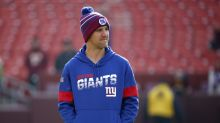 Eli Manning's Sundays are far different than he's used to, and he's loving every minute of it