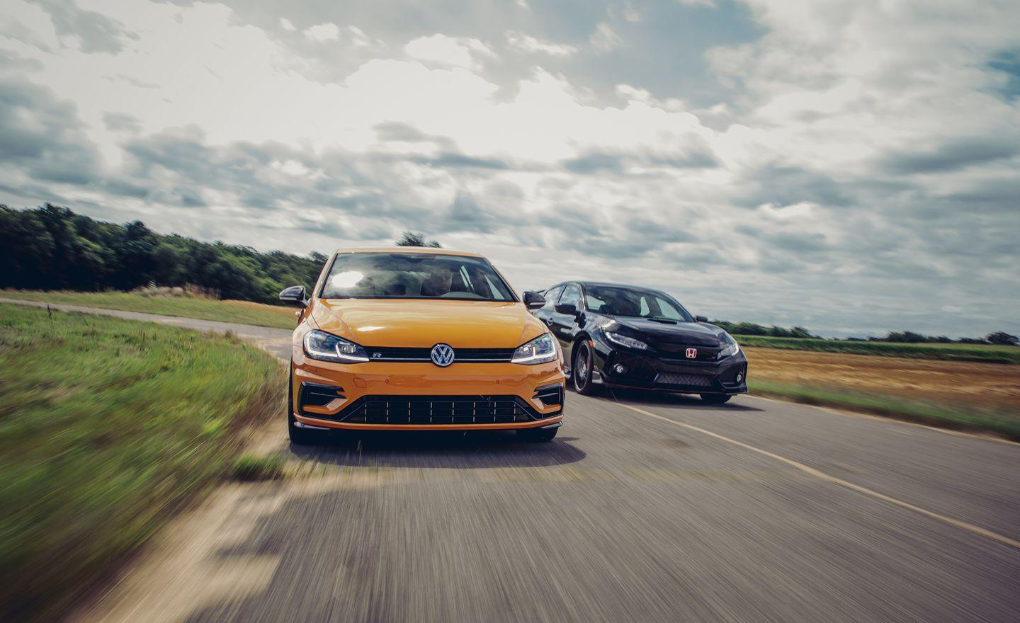 <p>To find out which has the sharpest teeth and is the easiest to live with, we aimed them both down the road and hit the test track—and discovered a host of surprising things about them along the way.</p>