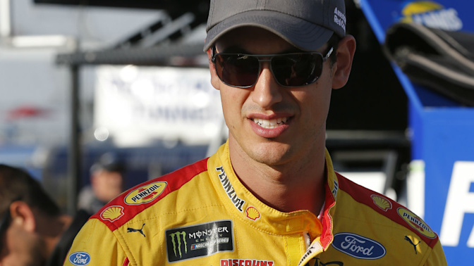 Logano calls practice punishment a 'joke'
