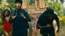 Nick Jonas & Sage the Gemini Summer Jam 'Good Thing' Video Highlights