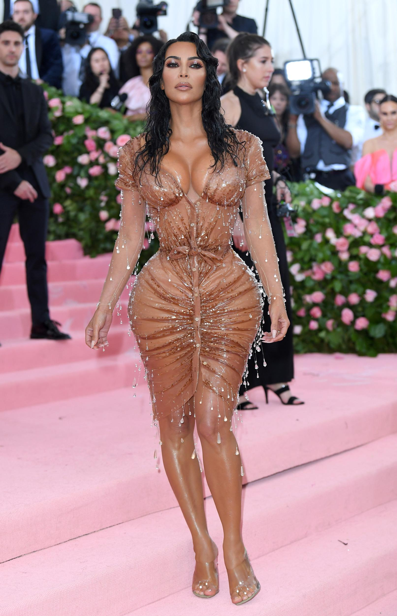 NEW YORK, NEW YORK - MAY 06: Kim Kardashian West arrives for the 2019 Met Gala celebrating Camp: Notes on Fashion at The Metropolitan Museum of Art on May 06, 2019 in New York City. (Photo by Karwai Tang/Getty Images)
