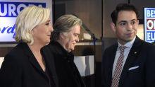 """""""Paris brûle"""", se réjouit Steve Bannon devant Marine Le Pen"""