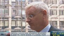 Arms sale to Russia hard to defend: Sweden's Bildt