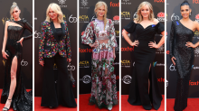 Kerri-Anne, Nicole and Rebecca Gibney lead AACTAs red carpet arrivals