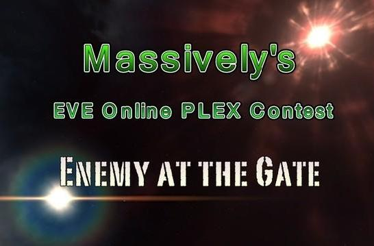 """Massively's EVE Online PLEX contest: """"Enemy at the Gate"""""""