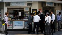 On World No Tobacco Day, Japan's health ministry removed its cigarette vending machine