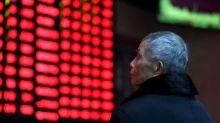 Asian shares slump after weak China GDP, pound retreats