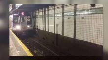 ¿Sabes para qué sirven los huecos de las paredes del metro de Nueva York?