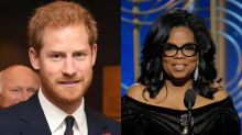 Prince Harry and Oprah Winfrey to partner on mental health series for Apple TV