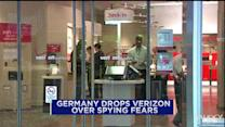 Germany drops contract Verizon over spying fears