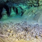 Ancient Mayan bones uncovered in Mexico at world's largest underwater cave