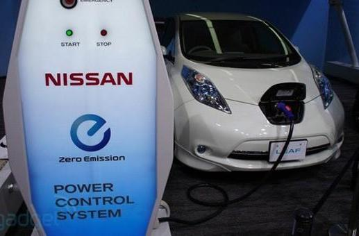 Nissan to install EV quick charge stations at more than 100 US dealerships