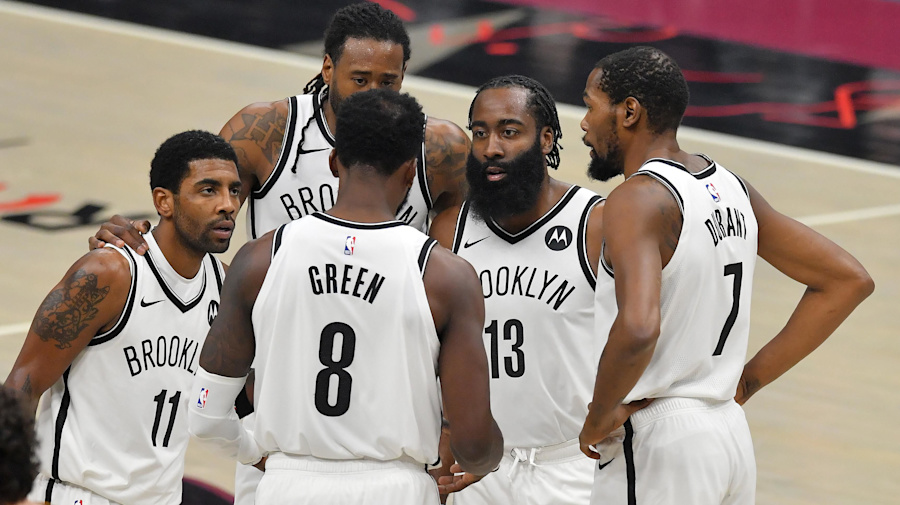 Forget the norm, Nets' Big 3 doing it their way