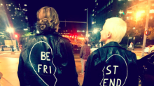Michelle Williams and Busy Philipps are BFF goals in $1,320 leather jackets