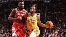 Warriors starters fail to hit a 3-pointer in ugly loss to Rockets in Draymond Green's return