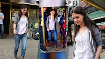 Katie Holmes Looks Beautiful as She Goes Make-Up Free