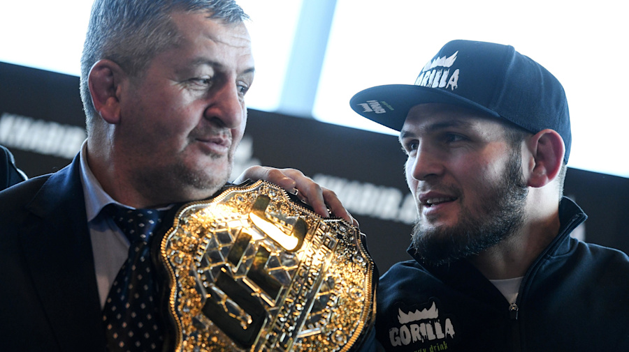 Forged by his father, Khabib's devotion endures