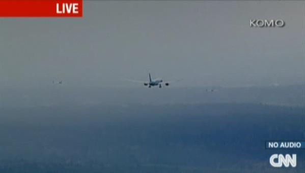Boeing's 787 Dreamliner takes flight for the first time