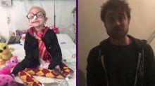El tierno mensaje de Daniel Radcliffe a una fan mexicana de Harry Potter enferma de cáncer
