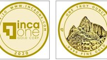 Inca One Gold Bullion Store to Launch September 17, 2020