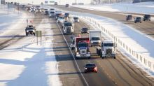Pipeline protest convoy approaches Ottawa after rolling across country