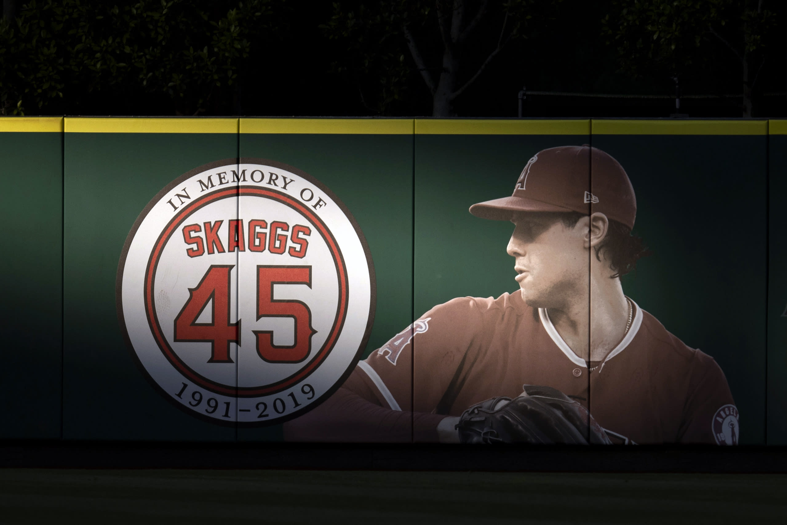 Angels Skaggs Death Indictment Baseball