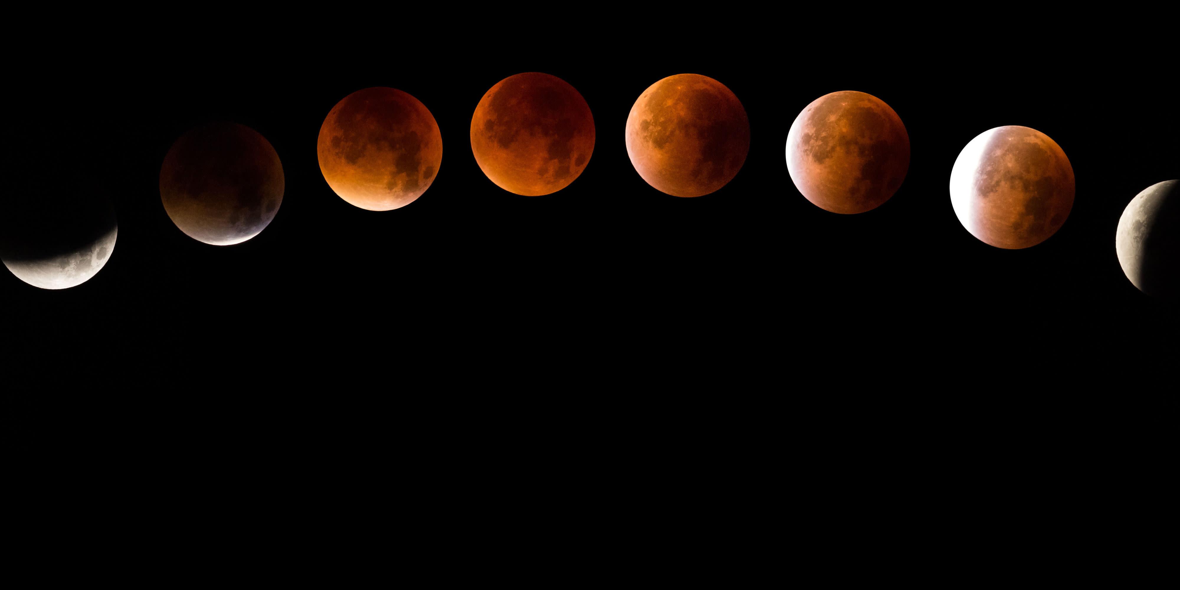 blood moon january 2019 peak time - photo #17