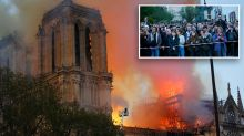'Paris is disfigured': Witnesses stunned by devastating Notre Dame blaze
