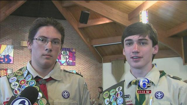 Boy Scouts in King of Prussia awarded for heroism