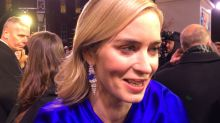 Emily Blunt found out what Julie Andrews thinks of Mary Poppins Returns...