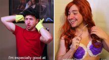 """""""Niemand putzt wie Gaston"""": Disney-Lockdown-Spektakel geht viral"""