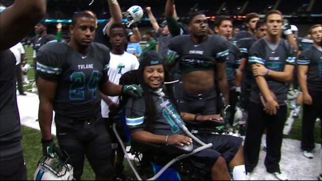 Paralyzed Tulane Graduate Signs With New Orleans Saints