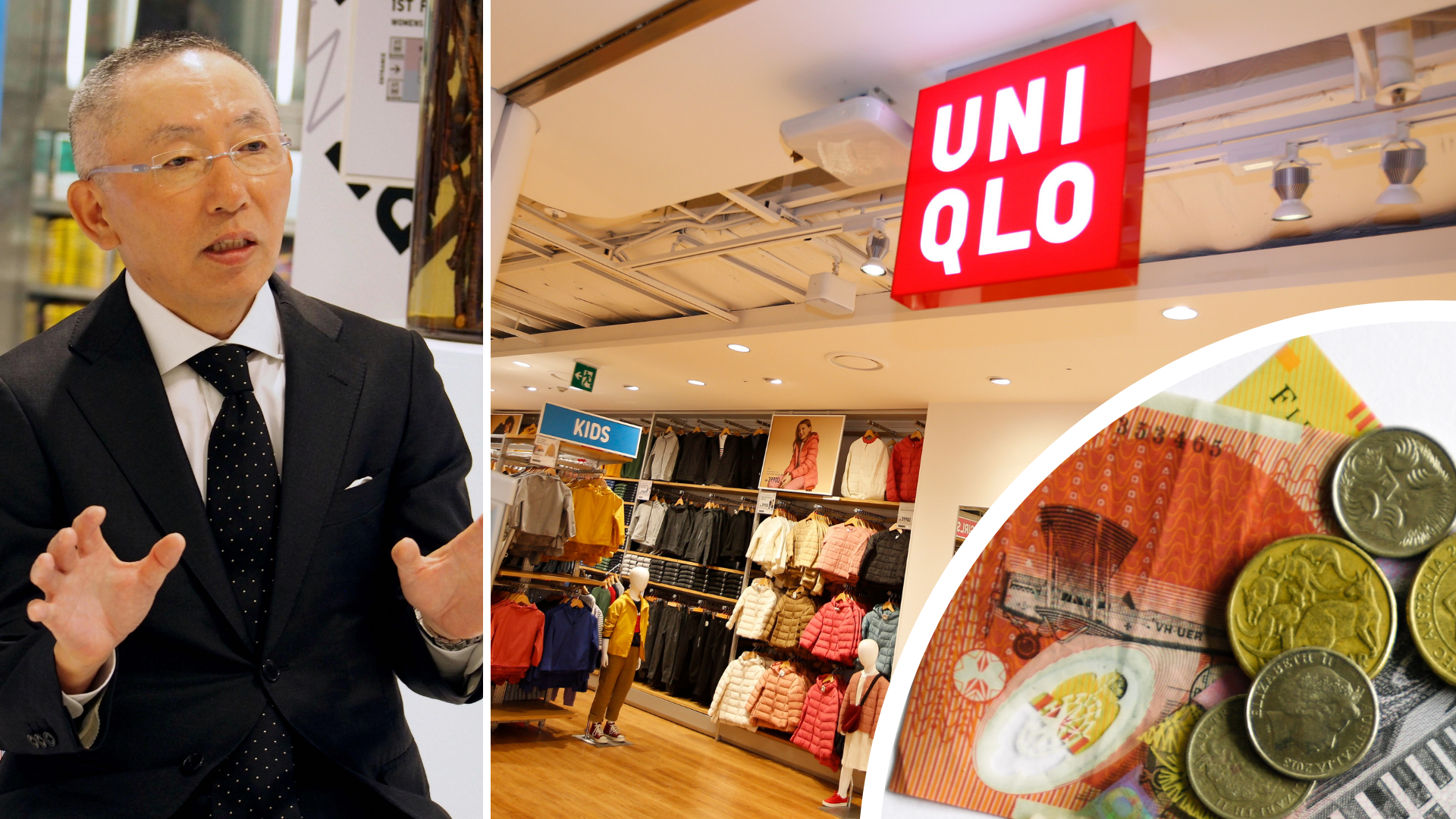 Uniqlo boss says $28b job is better for a woman